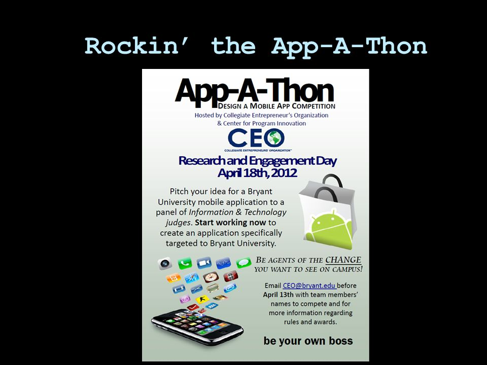 Rockin' the App-A-Thon