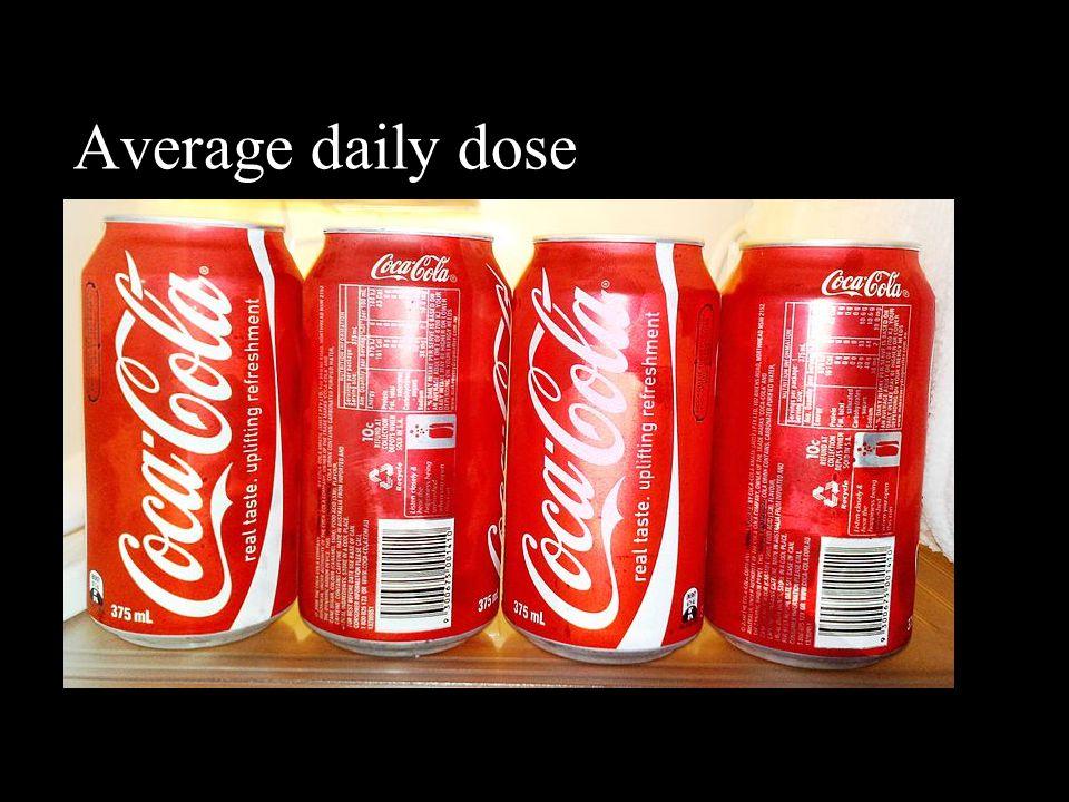 Average daily dose