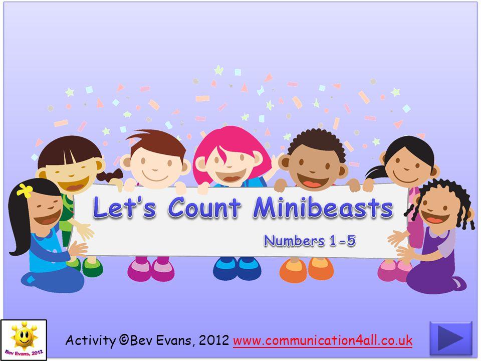 Activity ©Bev Evans, 2012 www.communication4all.co.ukwww.communication4all.co.uk