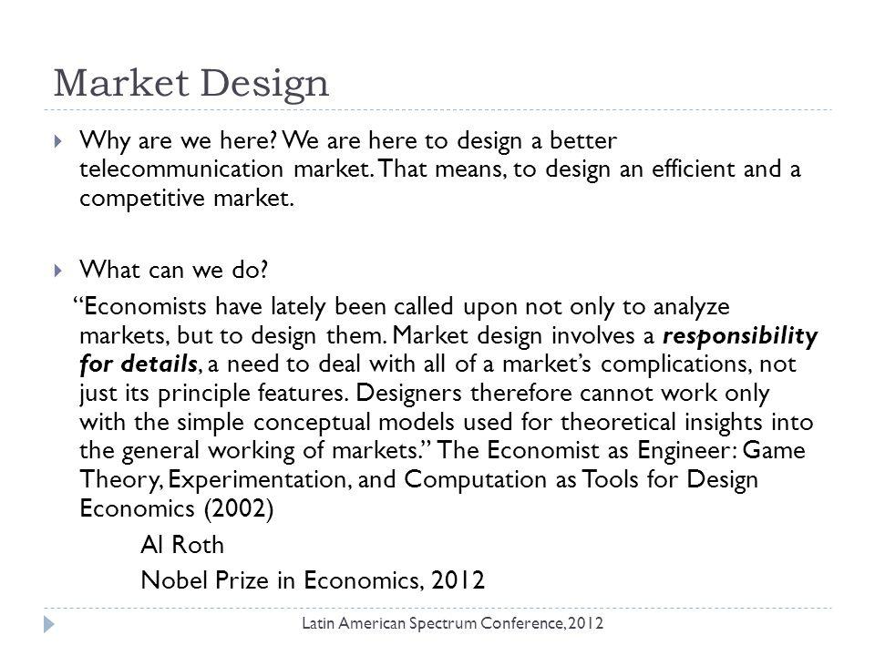 Thanks! Latin American Spectrum Conference, 2012