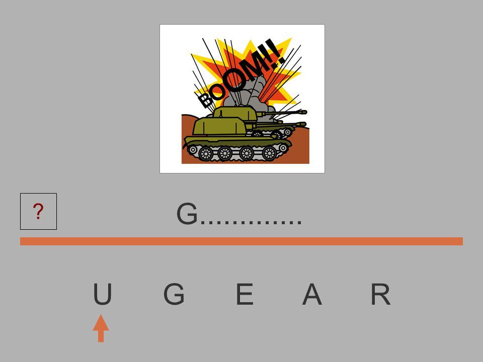 U G E A R................ ?
