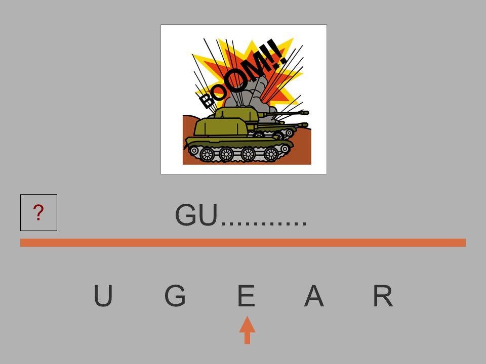 U G E A R G............. ?