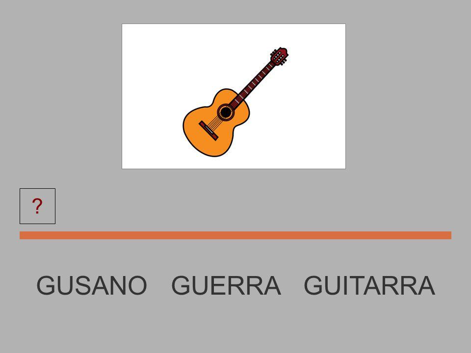 HOGUERA HOGUERA GUITARRA GUSANO ?