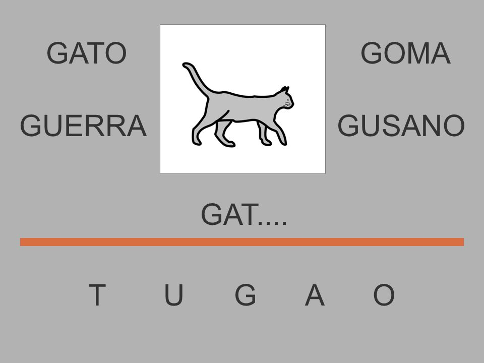 GATO T U G A O GOMA GA....... GUERRAGUSANO
