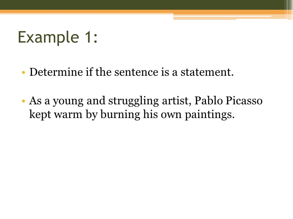 Example 12: Let p, q, r, and s represent the following statements: ▫p: Listening to classical music makes infants smarter.