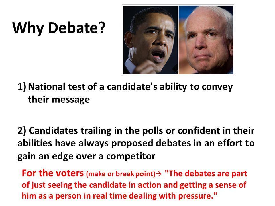 Why Debate.