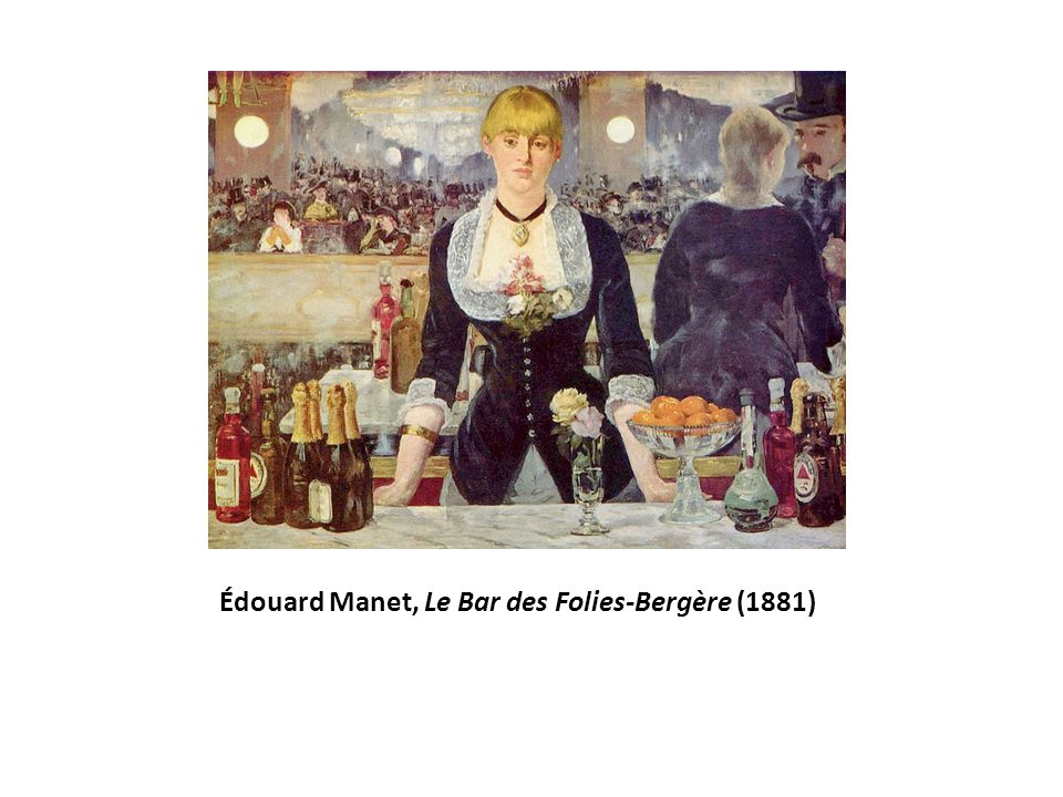 Édouard Manet, Le Bar des Folies-Bergère (1881)
