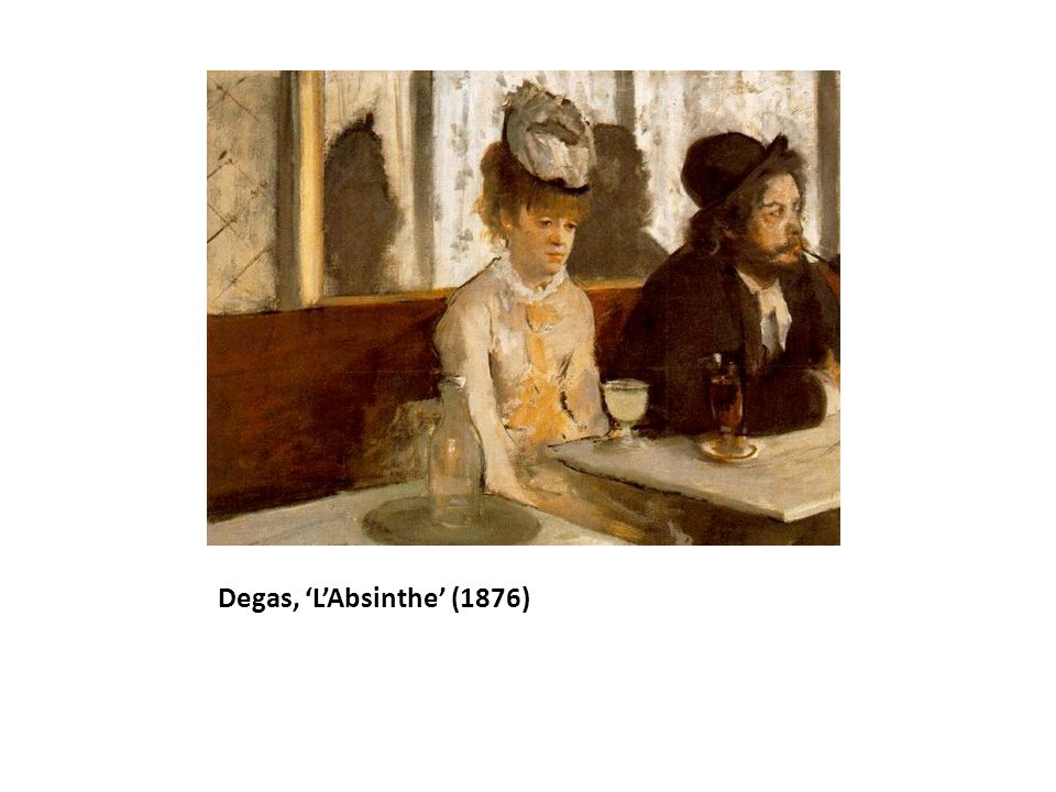 Degas, 'L'Absinthe' (1876)