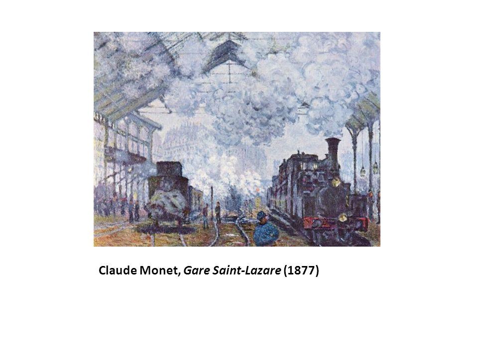 Claude Monet, Gare Saint-Lazare (1877)
