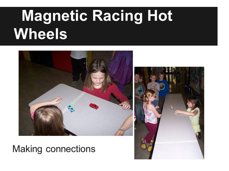 Magnetic Racing Hot Wheels Making connections