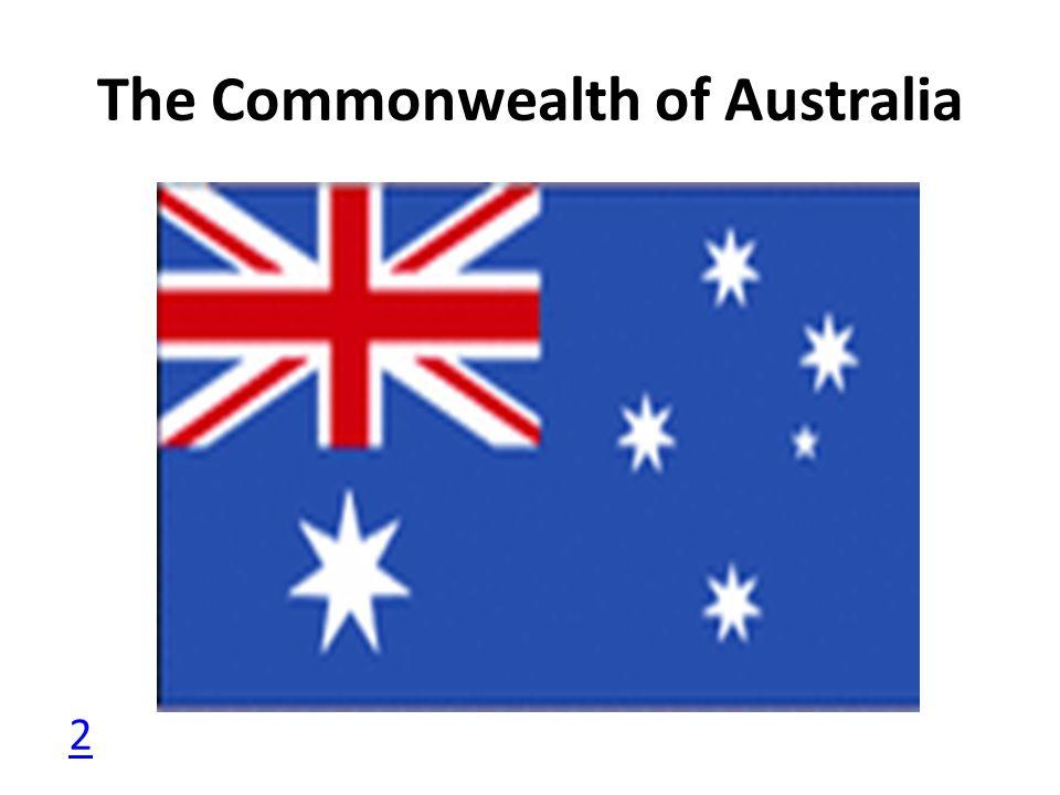 The Commonwealth of Australia 2