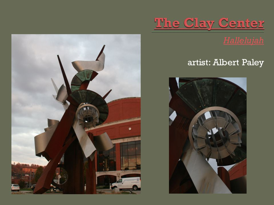 What is the name of the biggest sculpture in town?