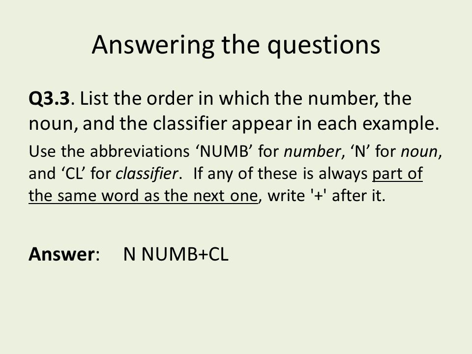 Answering the questions Q3.3.