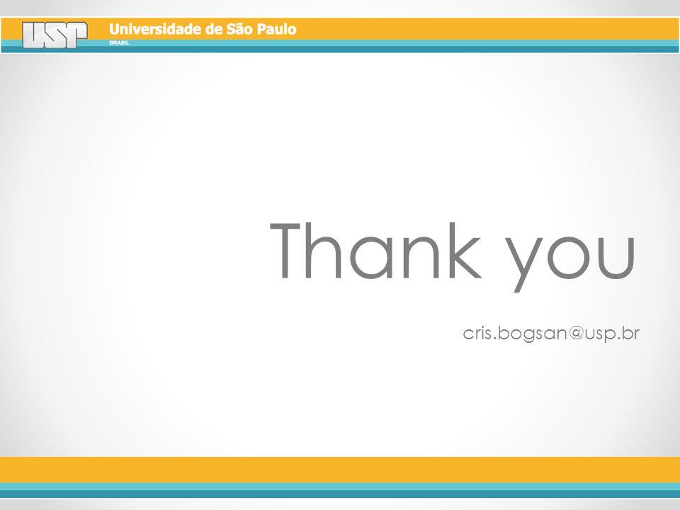 Thank you cris.bogsan@usp.br