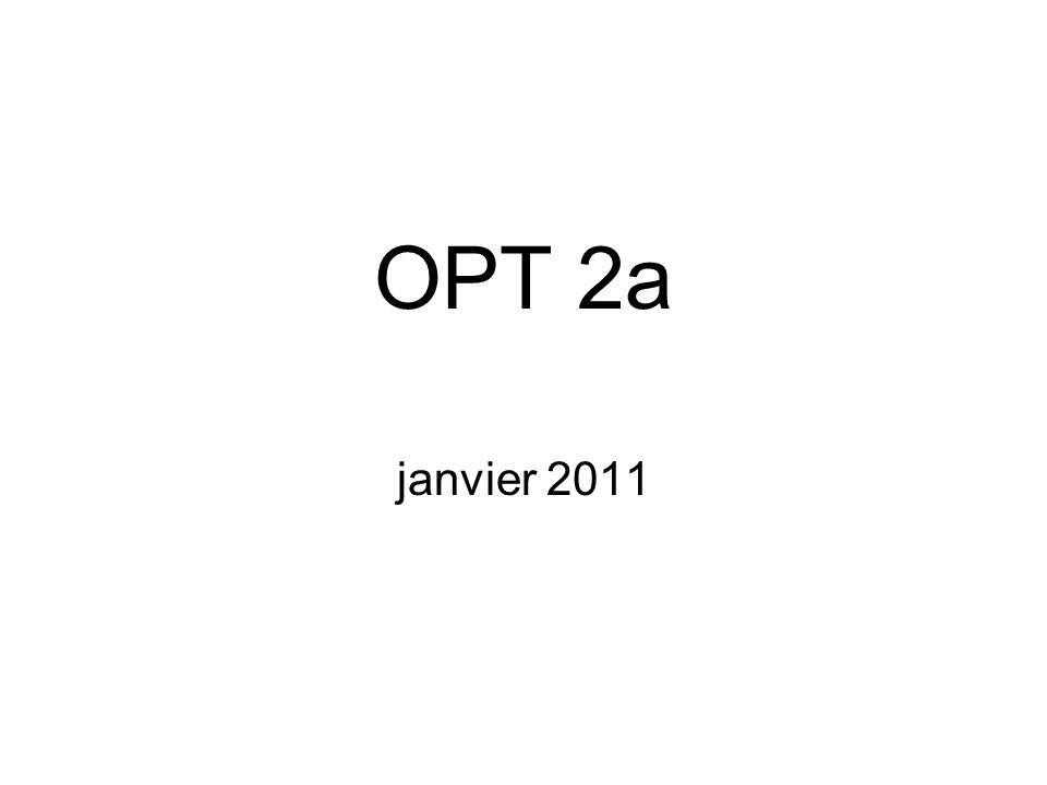 OPT 2a janvier 2011