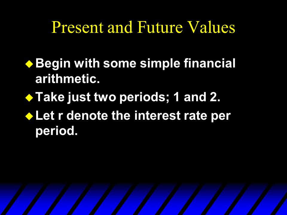 The Intertemporal Budget Constraint c1c1 c2c2 m2m2 m1m1 0 0 is the consumption bundle when all period 1 income is saved.