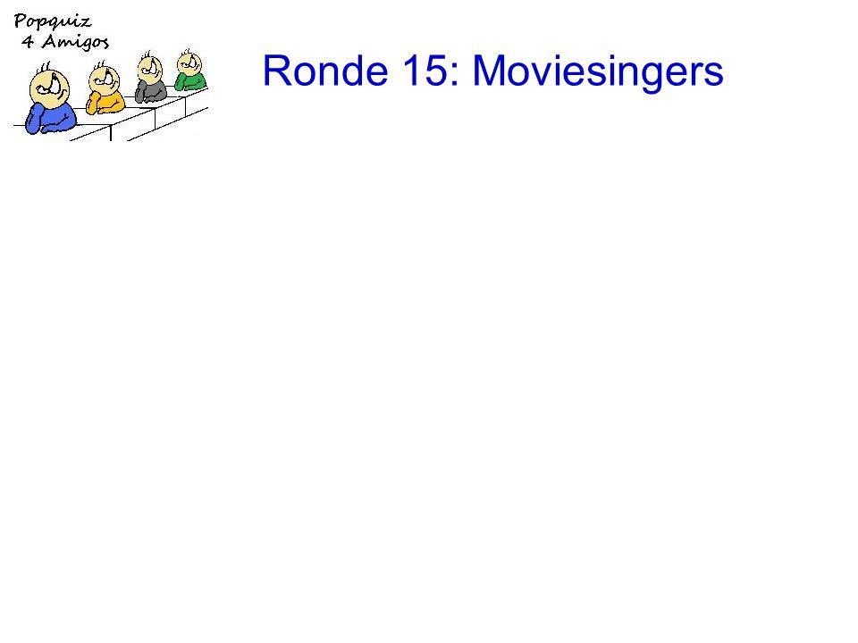 Ronde 15: Moviesingers