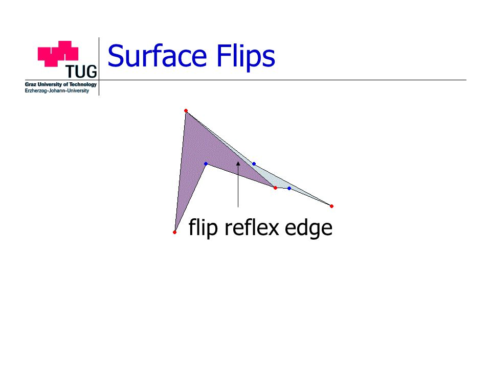 Surface Flips flip reflex edge
