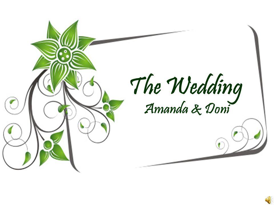 The Wedding Amanda & Doni