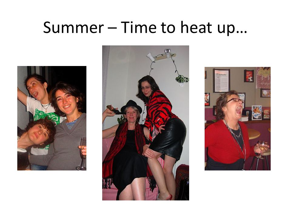 Summer – Time to heat up…