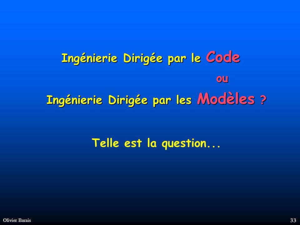 Olivier Barais 32 Multiples modèles d un même système modèles pour les architectes modèles pour les notaires modèles pour les pompiers système modèles pour le cadastre modèles pour l assureur cadastre modèles pour les paysagistes modèles pour les électriciens modèles pour les plombiers modèles pour les promoteurs