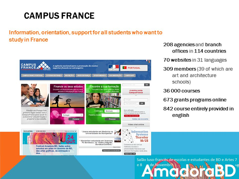 ART SCHOOLS IN FRANCE Course in arts in french higher education has become a major issue in result of three main tendancies: 1.