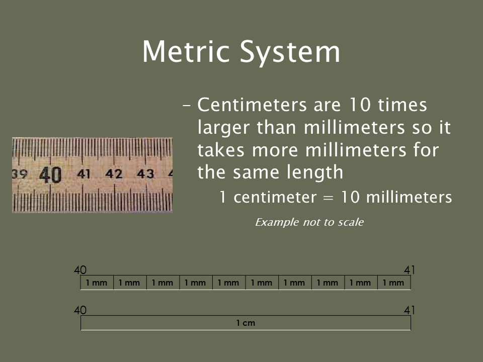 "Metric System These prefixes are based on powers of 10. What does this mean? –From each prefix every ""step"" is either: 10 times larger or 10 times sma"