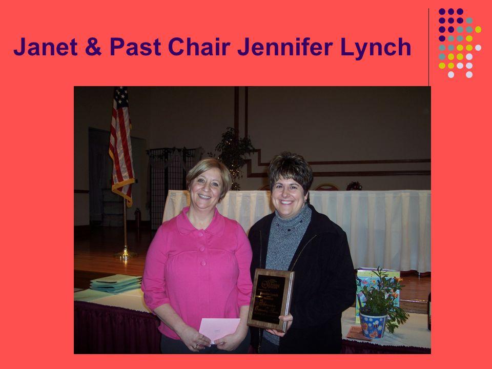 Janet & Past Chair Jennifer Lynch