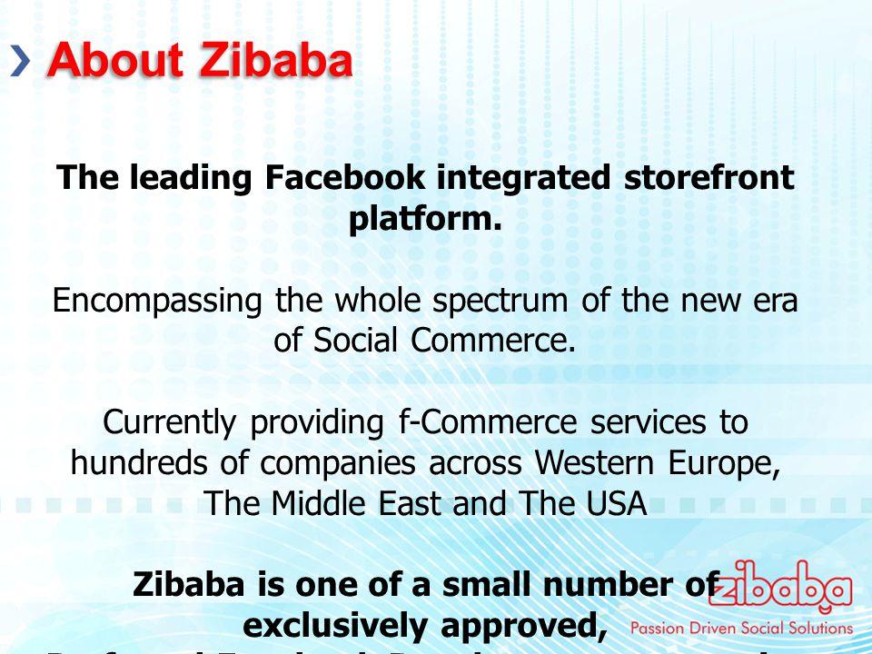 The leading Facebook integrated storefront platform.