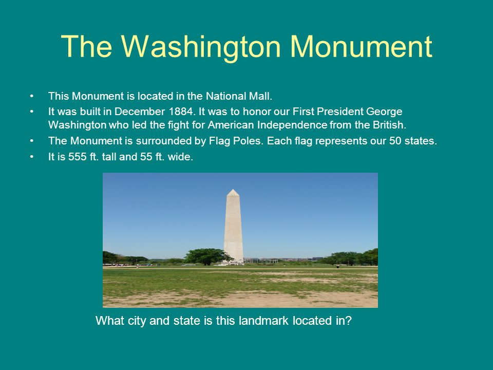 Lets Take A Trip To Some American Famous Landmarks Ppt Download - 50 states in famous landmarks