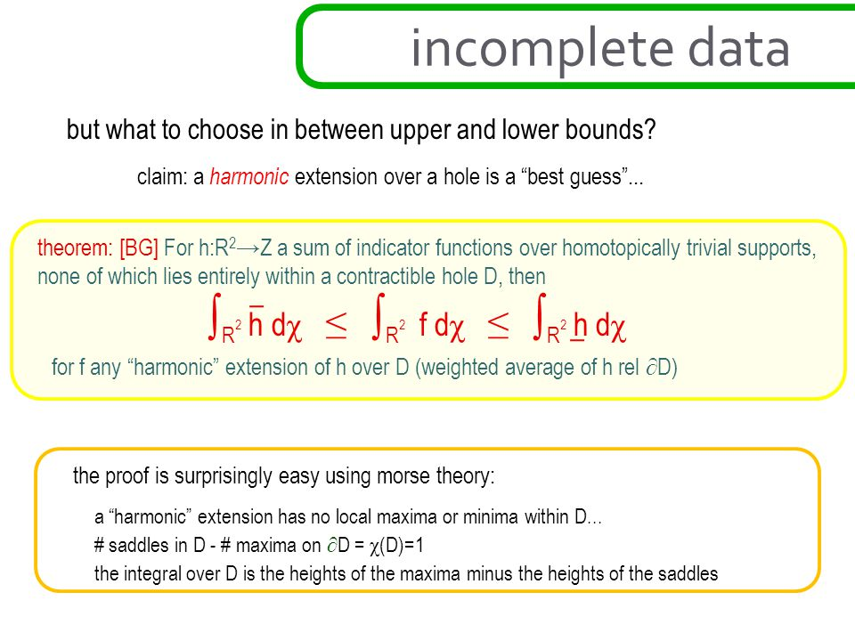 but what to choose in between upper and lower bounds.