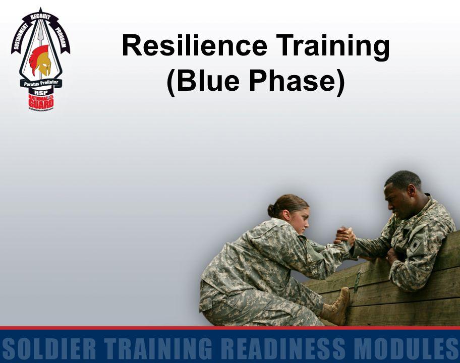 Resilience Training (Blue Phase)