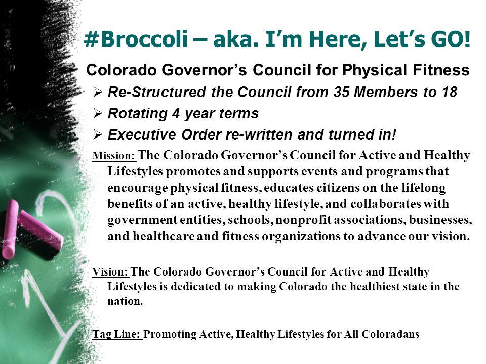 #Broccoli – aka. I'm Here, Let's GO.