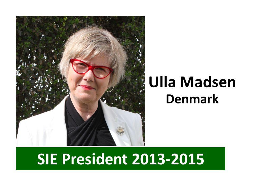 Ulla Madsen Denmark SIE President 2013-2015