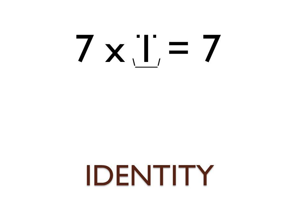 IDENTITY. \____/