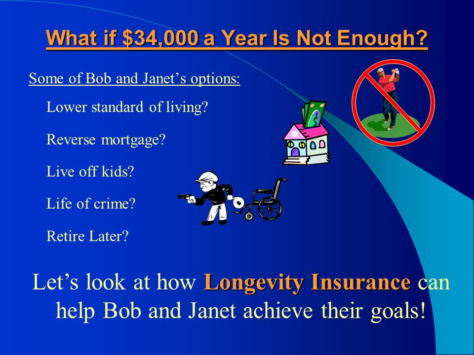 What if Bob and Janet Need More Income.