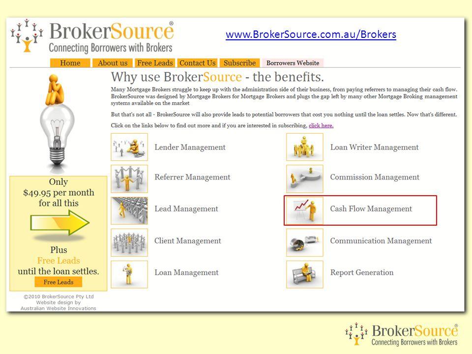 www.BrokerSource.com.au/Brokers