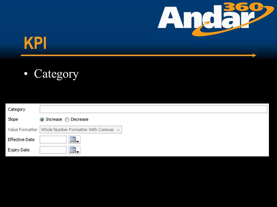 KPI Category