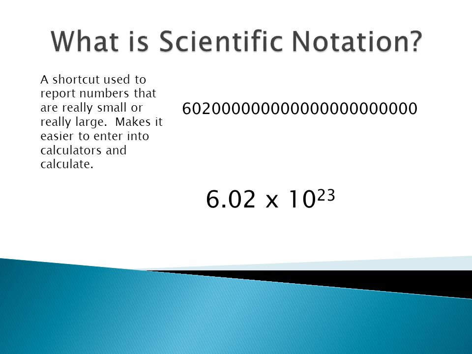 Objectives: Scientific Notation What do I know about…scientific notation What do I think is …the reason why we use scientific notation What do I now know…What do I now think is… I.Unit 1 – What is Science.