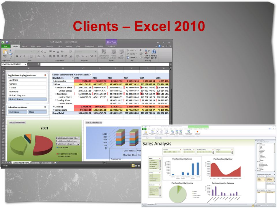 Clients – Excel 2010