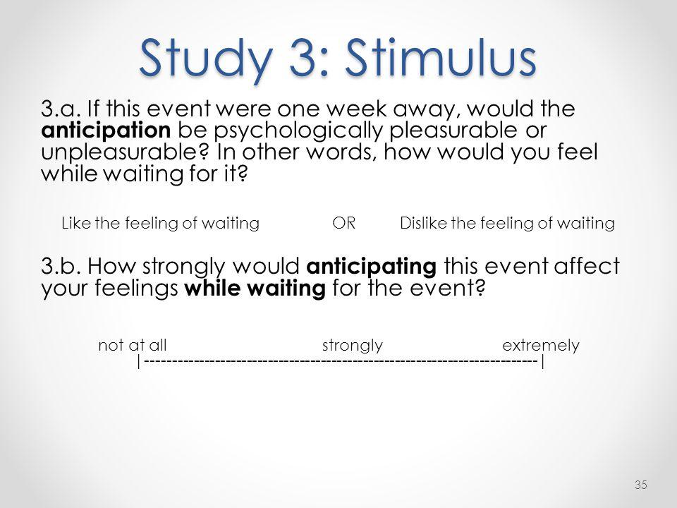 Study 3: Stimulus 3.a.