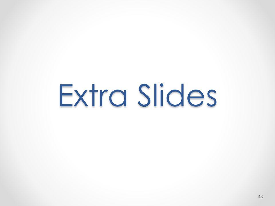 Extra Slides 43
