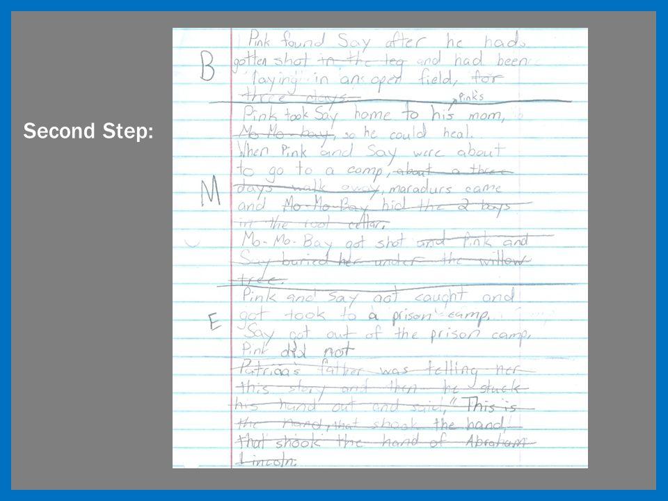 Second Step:
