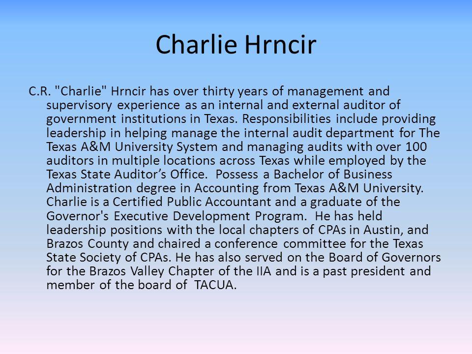 Charlie Hrncir C.R.