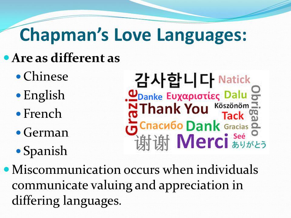 Five Languages: