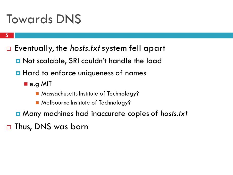  DNS Basics  DNS Security Outline 6