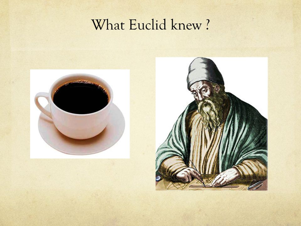 What Euclid knew