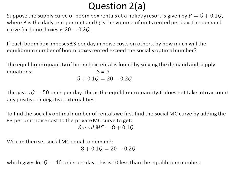 Question 2(a)