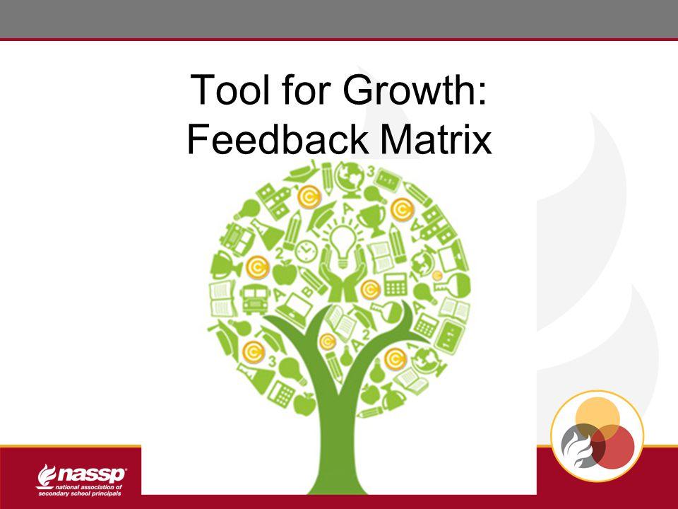 Tool for Growth: Feedback Matrix