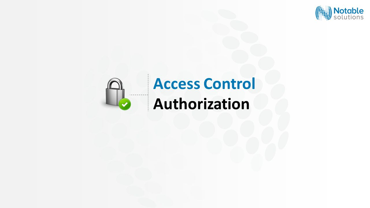 Access Control Authorization